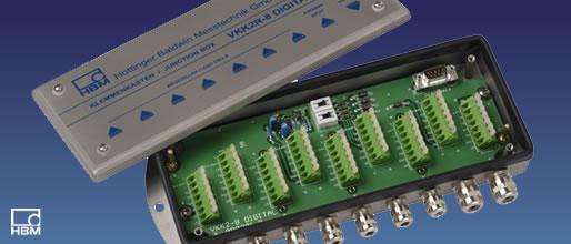 德国hbm vkk2-8, vkk2r-8 - 接线盒