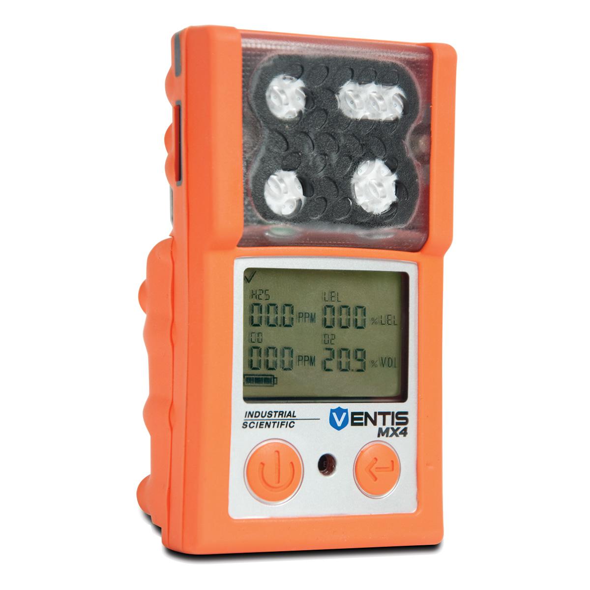 4 Gas Meter : Industrial scientific isc mx ventis multi gas monitor